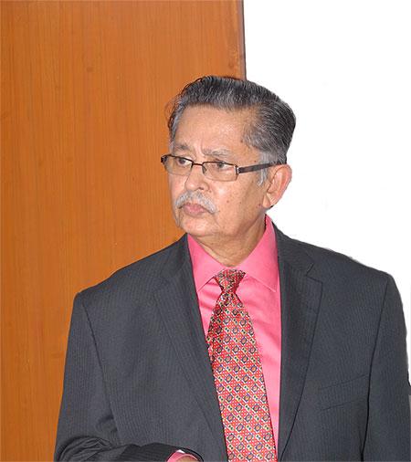 Prof. Rajaram Pagadala, Chancellor