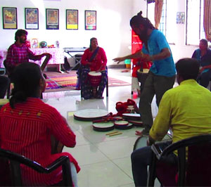 CMTER organized an workshop on Therapeutic Rhythms