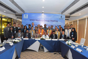 SBV represented at WHO Yoga Benchmark Meeting in New Delhi